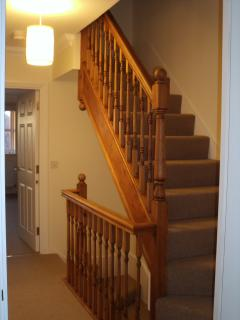 1st floor landing and Stairs to Master Bed & en-suite