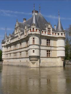 Azay le Rideau Château.