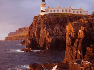 In a top 50 list of things to do before you die... Neist Point is only 5 minutes away by car.