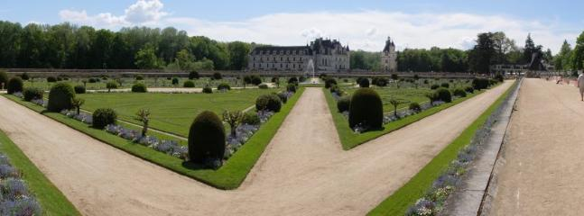 Chenonceaux Château.  The most visited château after Versailles.