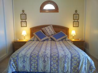 Master bedroom with double bed with A/C