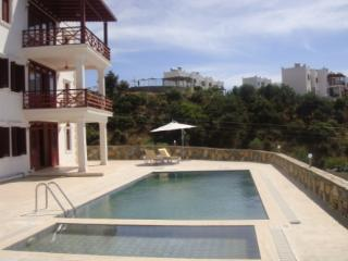 The infinity pool and childrens pool