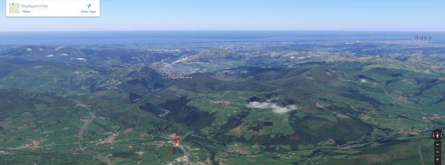 foto de situación geográfica en Cantabria