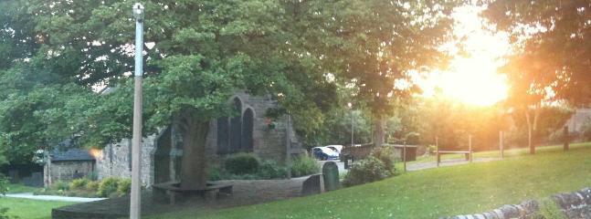Sunset from Strutt Cottage