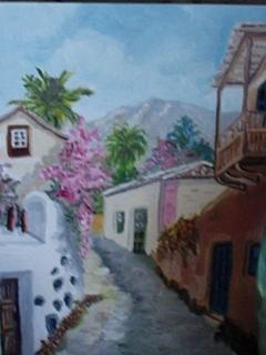 painting hand Margarita Baudet