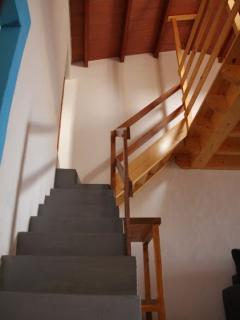 Escalera casa 1