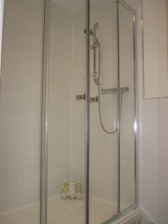 ensuite shower for double and twin room