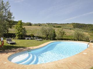3 bedroom Villa in Gambassi Terme, Firenze Area, Tuscany, Italy : ref 2230388