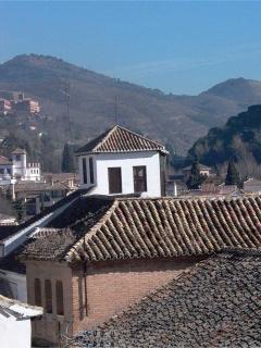 Detalles de la vista desde la terraza