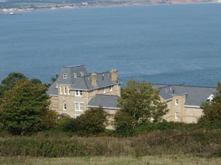 Luxury apartment on cliff top.  Surrounded by sea and countryside views.