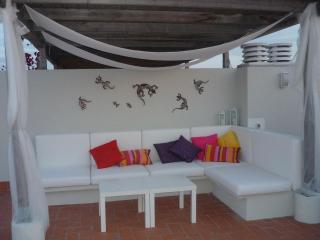 Atico 1a linea de playa con chill out