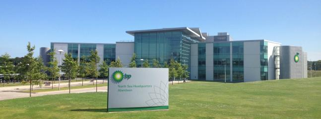 BP headquarters - next door along with all oil companies and training centres