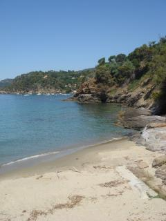 one of the beaches of le Rayol