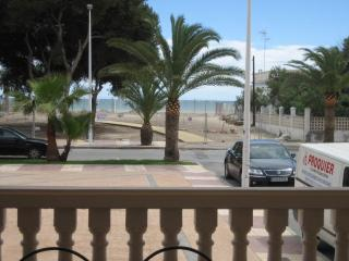 Apartamento frente al Mar en playa Moncofa, Moncofar