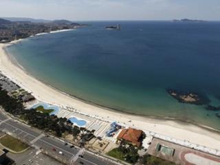 Casa en la playa del Vao en Vigo