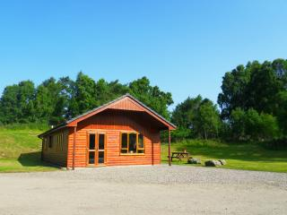 Guisachan lodge at Lochletter Lodges