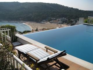 Costabravaforrent Gavina, para 6, piscina, vistas, L'Escala