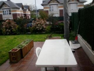 Apartamento con parcela y huer, Santander