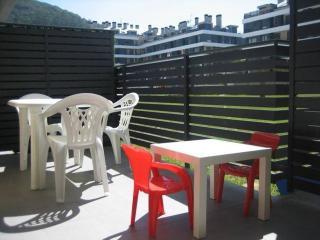 Apartamento con amplia terraza 1 habitacion