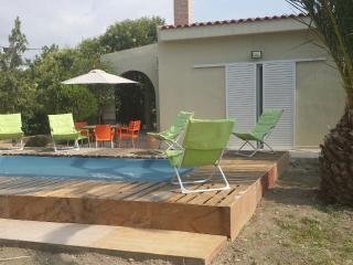 Faliraki house with pool-garden-central