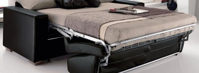 Sofabed (extra comfort for 2 adults)