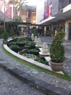 Fish Pond and Restaurant