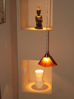 Détail de l'éclairage, Chambre Zen