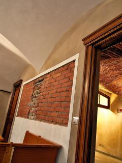 Paricolari delle porte in legno d'epoca