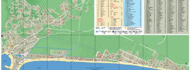 Mapa de Peñíscola