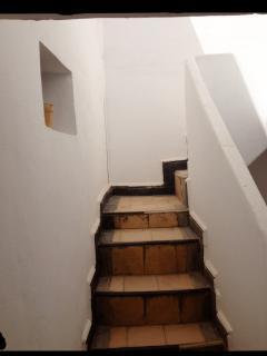 Escaliers pour la terrasse