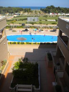 Vista piscina comunitaria