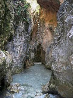 Río chillar (cahorros )