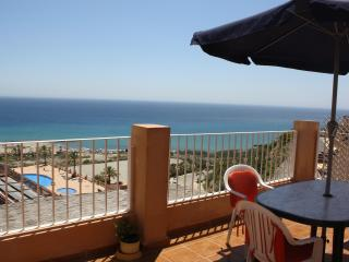 Seaview, Penthouse apartment with large terrace, Mojácar