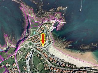 Primera linea playa Comillas