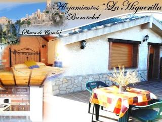 "Alojamiento Rural ""La Higuerilla"" Amplia terraza, Burunchel"