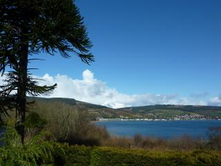 The stunning view from Alt Ardoch House