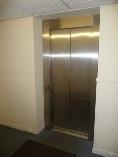 Internal lift from FREE secure underground car park