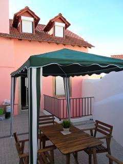 Terrace of the house