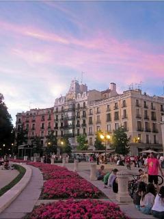 Plaza de Oriente.