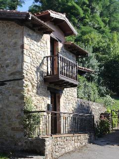 Vista exterior Casa de la Roca