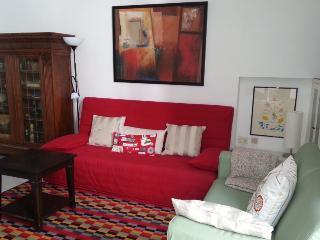 sala de estar con sofa cama
