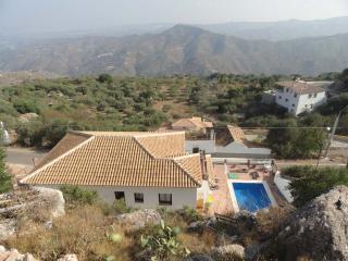 Casa La Molina from the bank above