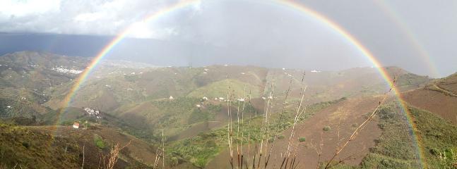 Rainbow over El Borge