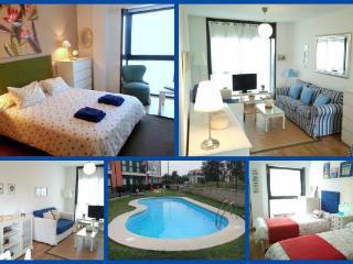 Living Galicia playa y piscina
