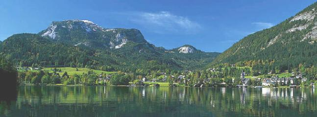St Wolfgang from the other side of the Wolfgangsee