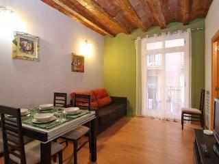 Colorido apartamento, Las Ramblas Palau Guell, Barcelona
