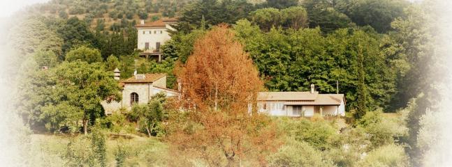 The area around Villa La Rosa Antica