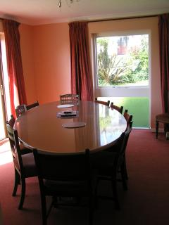 Dining room and table
