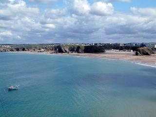 "Pentowan Penthouse ""WOW"" factor views and location, Newquay"