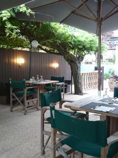 Local restaurant in Montbron